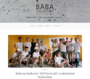 Wywiad ze SPOTowiczkami na blogu Baba z budowy